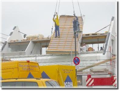 fliegendes Dach