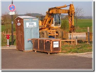 Baustellenstilleben