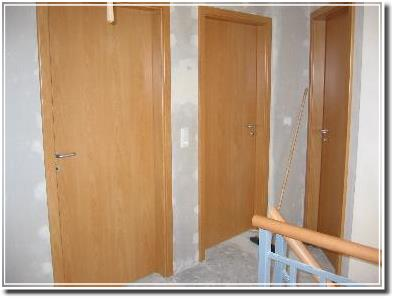 Türen im Obergeschoss