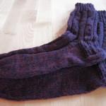 1000 + eine Socke, quasi-Rippen