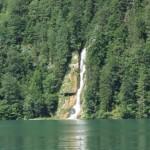 Wasserfall am Königssee