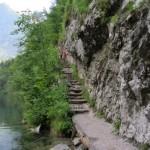 """das war der Steig im Fels mit den """"Stufen"""""""