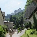 Blick zur Festung Hohen Salzburg