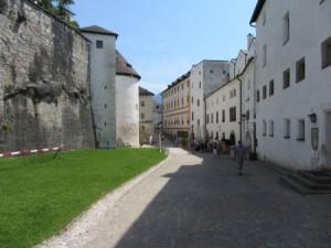 auf der Festung Hohen Salzburg