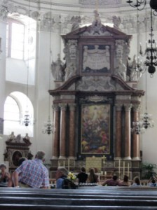 Altar im Salzburger Dom