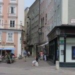eine Gasse in Salzburg